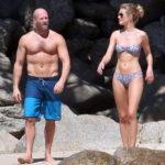 Джейсън Стейтам и Роуз Хънтингтън-Вайтли – секси тела на плажа